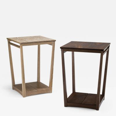 Eben Blaney Tapered Frame Side Tables