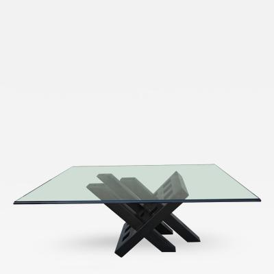 Ebonized Italian 1960s Coffee Table