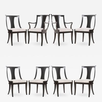 Ebony Reproduction Dining Chairs