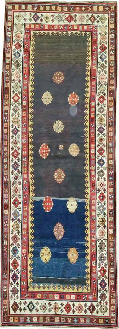Eclectic Talish Antique Runner rug no j1822