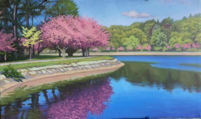 Ed Stitt Spring Reservoir Trees
