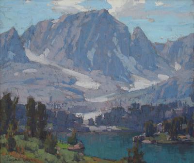 Edgar Alwin Payne Big Pine Lake