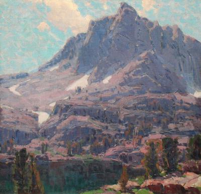 Edgar Alwin Payne Fifth Lake Peaks High Sierras