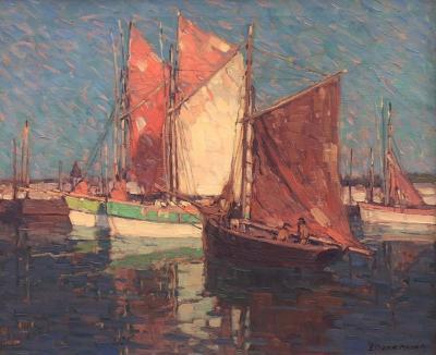 Edgar Alwin Payne Sailing