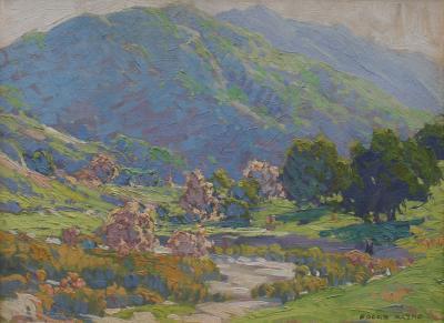 Edgar Alwin Payne Santa Ana Canyon