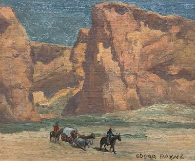 Edgar Alwin Payne Trek from the Canyon