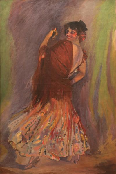 Edgar Martin Keller The Dancing Girl