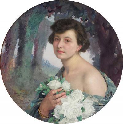 Edgar Maxence Portrait Champetre