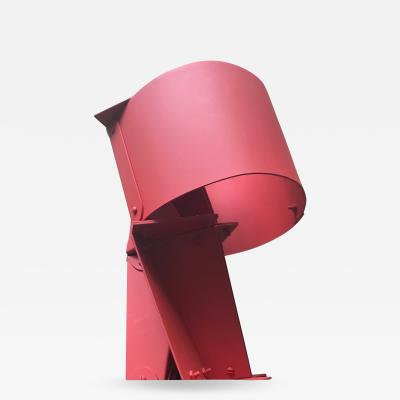 Edgard Negret Navegante Modern Red Abstract Sculpture