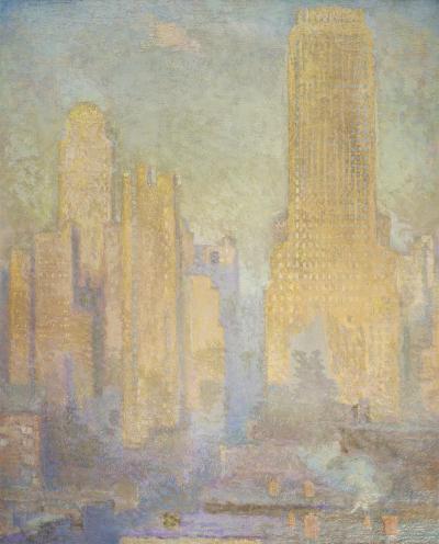 Edith Mitchill Prellwitz Chanin Building Midtown Manhattan 1929