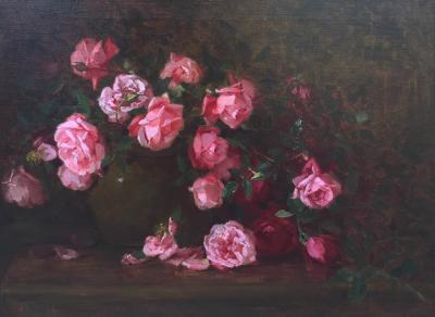 Edith White Roses