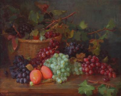 Edith White Still Life with Grapes