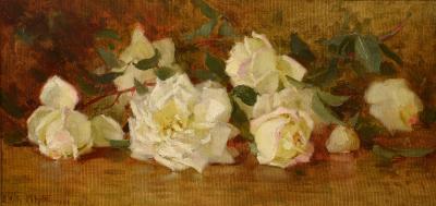 Edith White White Roses