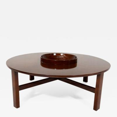 Edmond Spence Mid Century Modern Edmond Spence Round Coffee Table