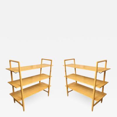 Edmond Spence Swedish Midcentury Bookshelf by Edmond Spence