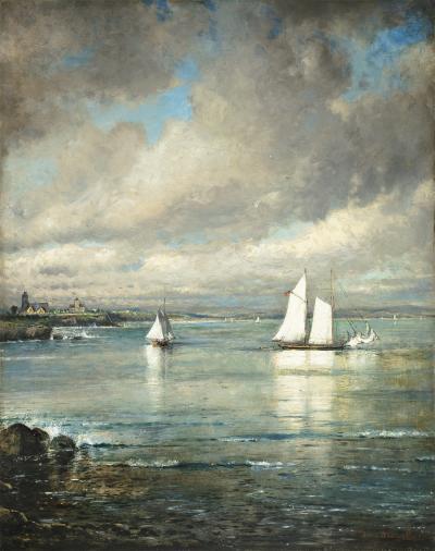 Edmund Darch Lewis Cliffs at Newport