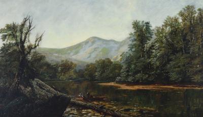 Edmund Darch Lewis Hudson River Landscape
