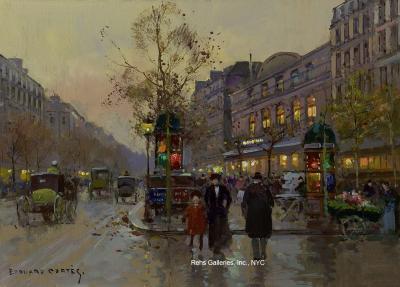 Edouard Leon Cortes Theatre du Gymnase Boulevard Bonne Nouvelle