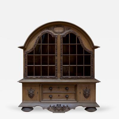 Eduard Pfeiffer An Oak Display Cabinet