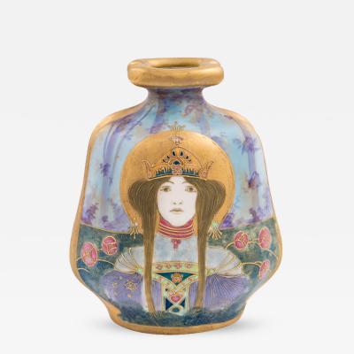 Eduard Stellmacher Amphora Portrait Vase Allegory Russia Riessner Stellmacher Kessel