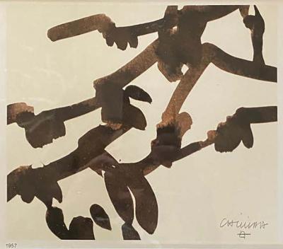 Eduardo Chillida Abstract Print