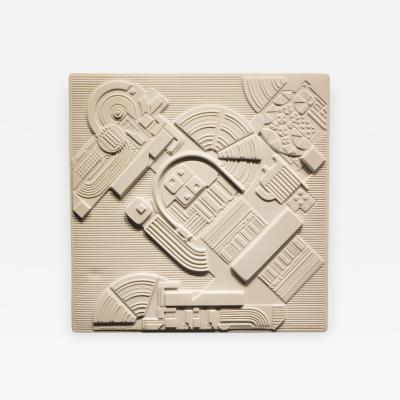 Eduardo Paolozzi Eduardo Paolozzi Plaque for Rosenthal