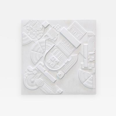 Eduardo Paolozzi Year Plate by Eduardo Paolozzi for Rosenthal