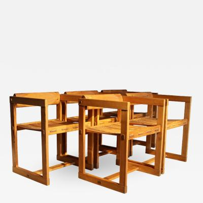 Edvin Helseth 5 Dining Chairs with Armrests
