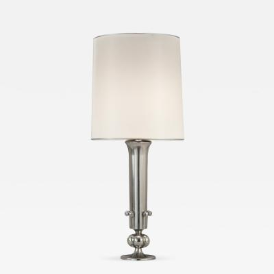 Edvin Ollers Edvin Ollers Swedish Grace Period Pewter Lamp