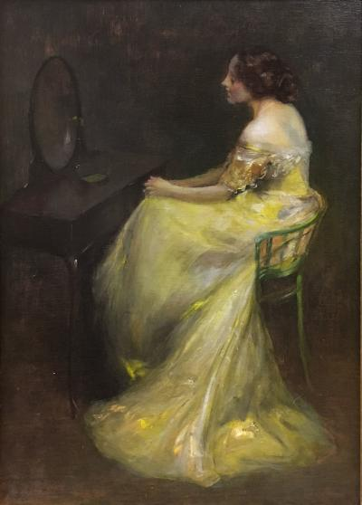 Edward August Bell The Mirror