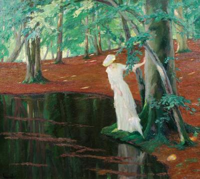 Edward Cucuel The Emerald Pool