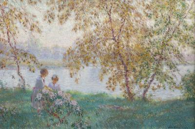 Edward Dufner In the Spring