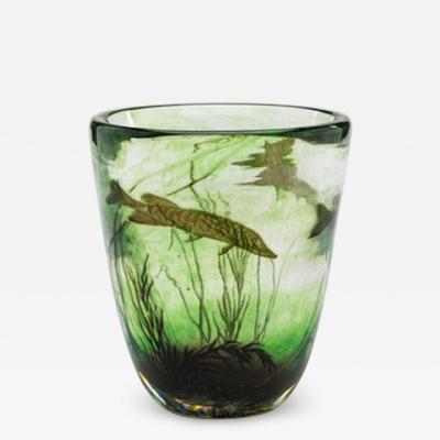 Edward Hald Edward Hald Fish Graal Vase