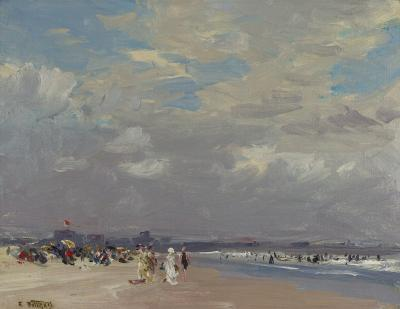 Edward Henry Potthast Rockaway Beach