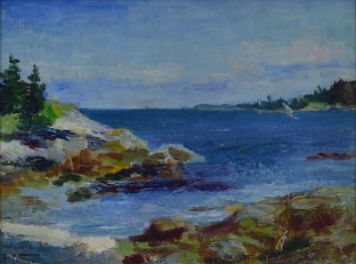 Edward Henry Potthast Rockaway Beach