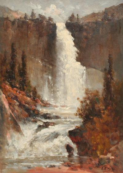 Edward Hill Vernal Falls Yosemite