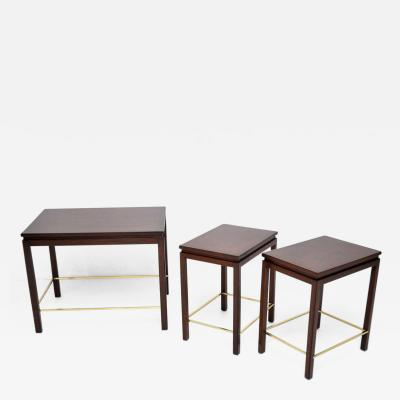 Edward J Wormley Dunbar Nesting Tables by Edward Wormley