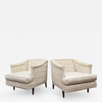Edward J Wormley Edward Wormley Lounge Chairs for Dunbar