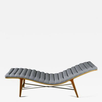 Edward J Wormley Edward Wormley for Dunbar Listen To Me Chaise Lounge