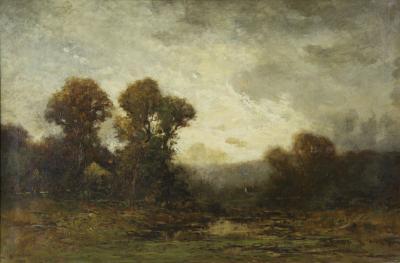 Edward Loyal Field Edward Loyal Field American 1856 1914 Tonalist Landscape