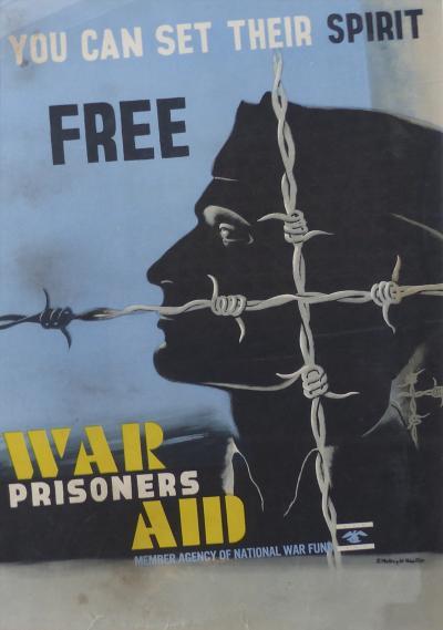 Edward McKnight Kauffer Art Deco War Poster By Edward McKnight Kauffer