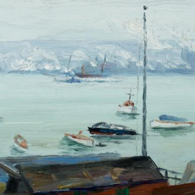 Edward Middleton Manigault Columbia Yacht Club 1908