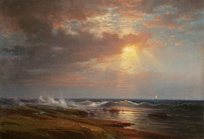 Edward Moran Sunset