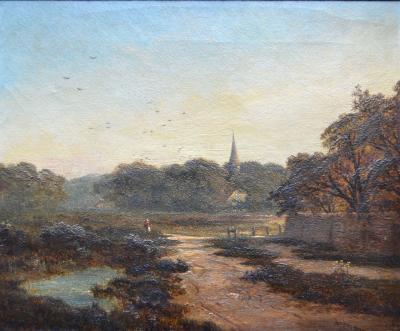 Edward Niemann English Landscape