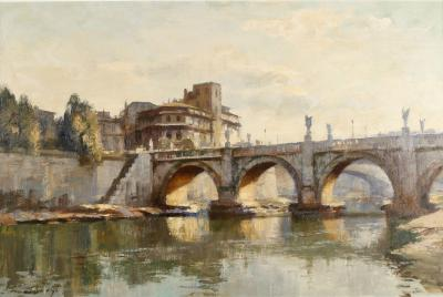 Edward Seago Ponte SAngelo Rome