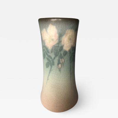 Edward T Hurley Rookwood Pottery Vase