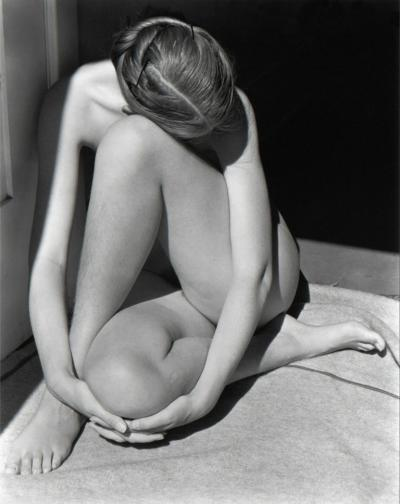 Edward Weston Charis in Doorway 1936