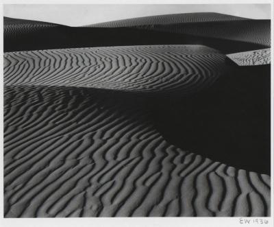 Edward Weston Dunes Oceano 1936