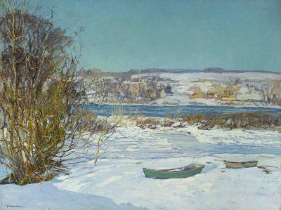 Edward Willis Redfield Frozen Creek