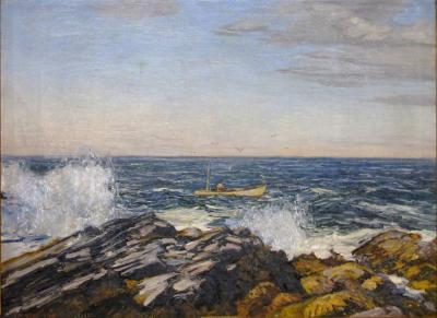 Edward Willis Redfield The Lobsterman